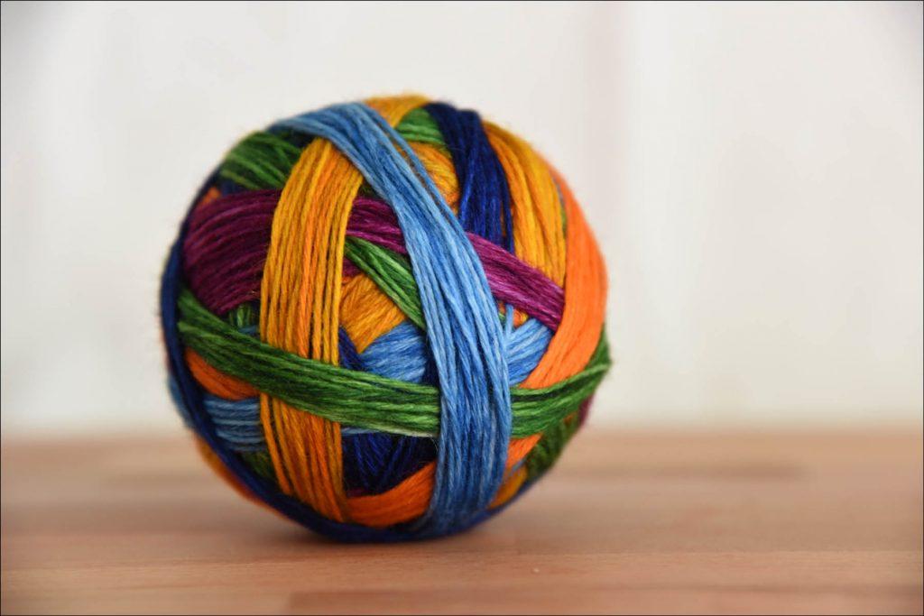 a-harvestrainbowball