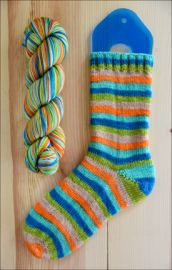 .'Beach Glass' Vesper Sock Yarn DYED TO ORDER