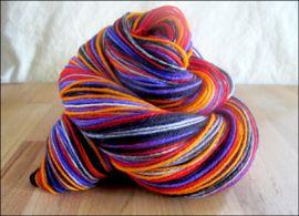 'Bump in the Night' Vesper Sock Yarn DYED TO ORDER