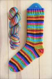 "..""Butterfly in the Sky"" Vesper Sock Yarn DYED TO ORDER"