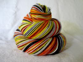 'Halloween Tradition' Vesper Sock Yarn DYED TO ORDER