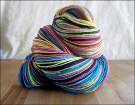 'Happy Accident' IN STOCK  'Thick Sock' Vesper Sock Yarn