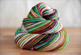 .'Joyful Noise'  NEW COLORWAY! Vesper Sock Yarn DYED TO ORDER
