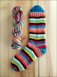 .'Long Strange Trip' Vesper Sock Yarn - 12th Anniversary Colorway! - DYED TO ORDER