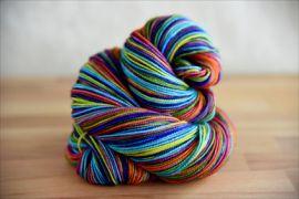 'Harvest Rainbow'  Vesper Sock Yarn DYED TO ORDER