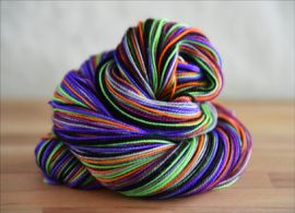 'Whisper to a Scream' Vesper Sock Yarn DYED TO ORDER
