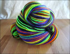 'Socktober Spooktacular' IN STOCK 'Thick Sock' Vesper Sock Yarn