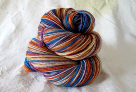 'Thankful' Vesper Sock Yarn DYED TO ORDER