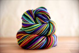 'TomorrowLand' Vesper Sock Yarn DYED TO ORDER