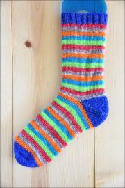 'Electric Revolution' Vesper Sock Yarn DYED TO ORDER