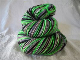 'Ghoulish' Vesper Sock Yarn DYED TO ORDER