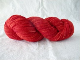"""Cherry Red""  Vesper Worsted"