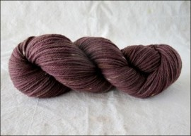 """Chocolate""  Vesper Worsted"