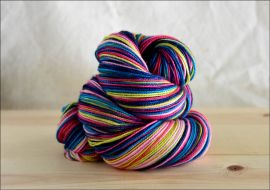 ..'Bold and Beautiful' Vesper Sock Yarn DYED TO ORDER