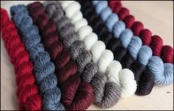"""""""Natural Neutrals"""" Mitten Yarn Kit"""