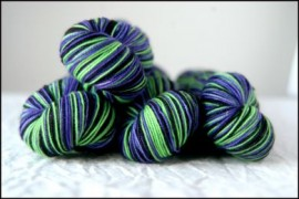 'Witchy Woman'  Vesper Sock Yarn DYED TO ORDER