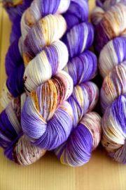 'Spookalicious' Bespeckled Vesper Sock Yarn
