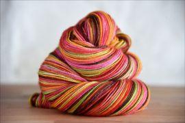 'Holiday Boogie Woogie' IN STOCK Glitterful Vesper Sock Yarn