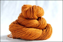 'Caramel' Semi Solid Vesper Sock Yarn Dyed to Order