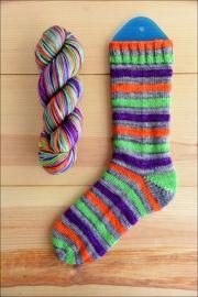 ..'Hocus Pocus Refocus!' Vesper Sock Yarn DYED TO ORDER