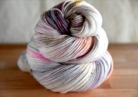 'Fireside' Preorder Bespeckled MCN Vesper Sock Yarn