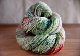 'Mistletoe' IN STOCK Bespeckled MCN Vesper Sock Yarn
