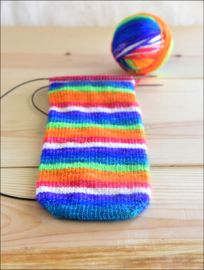 'Live in Technicolor' Vesper Sock Yarn DYED TO ORDER