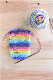 .'OMG Pastels' Vesper Sock Yarn DYED TO ORDER