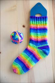 .'Sometimes In April' Vesper Sock Yarn DYED TO ORDER