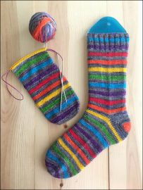 .'Rainbow Revolution' Vesper Sock Yarn DYED TO ORDER