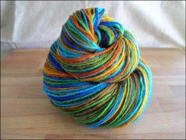 """Kaleidoscope"" Vesper Sock Yarn DYED TO ORDER"
