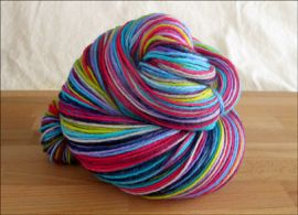 'Lightning in a Bottle' Vesper Sock Yarn DYED TO ORDER