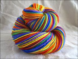 """Pure Prism"" Vesper Sock Yarn DYED TO ORDER"