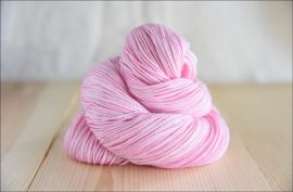 'Baby Pink' April 2020 Semi Solid Vesper Sock Yarn