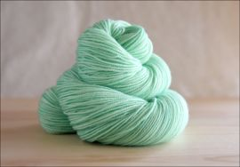 'Mint' April Semi-Solid Vesper Sock Yarn DYED TO ORDER