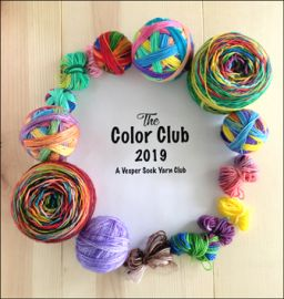 2019 'The Color Club'  A Vesper Sock Yarn Club