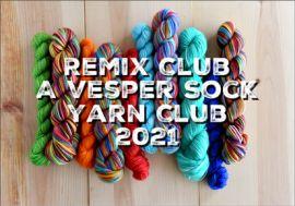 2021 'The ReMix Club'  A Vesper Sock Yarn Club