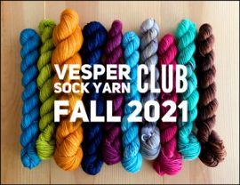 Vesper Sock Yarn Club October-November-December-2021