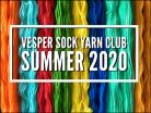 Vesper Sock Yarn Club July-August-September-2020