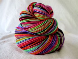 """Bride of Socktober Spooktacular"" Vesper Sock Yarn DYED TO ORDER"