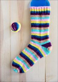 'Fresh Flowers' Vesper Sock Yarn DYED TO ORDER