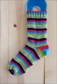 'Happy Accident' Vesper Sock Yarn DYED TO ORDER