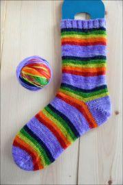 .'The Way it Goes' Vesper Sock Yarn DYED TO ORDER