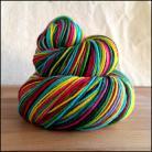 'Twinkle Lights'  Vesper Sock Yarn DYED TO ORDER