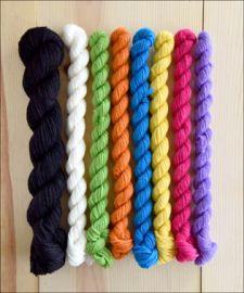 'Rainbow:Bright' Chevron Love Slouch Kit