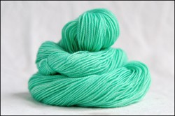 """Seafoam"" Semi-Solid Vesper Sock Yarn DYED TO ORDER"