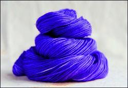 'Violet' Semi-Solid Vesper Sock Yarn DYED TO ORDER