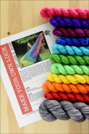 'Make Your Own Luck' Yarn Kit DYED TO ORDER