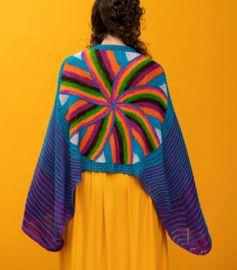 'Onward and Outward Shawl' Yarn Kit DYED TO ORDER
