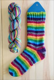'Bewitched, Bothered, and Bewildered' Vesper Sock Yarn DYED TO ORDER